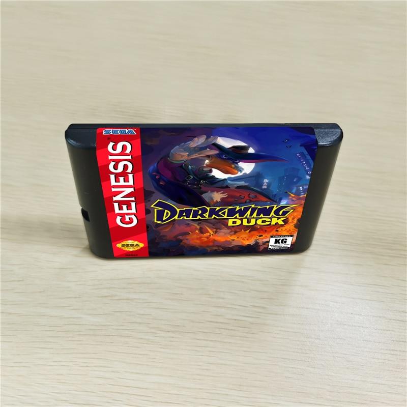 Darkwing Game Duck-cartucho de 16 bits MD para consola MegaDrive Genesis
