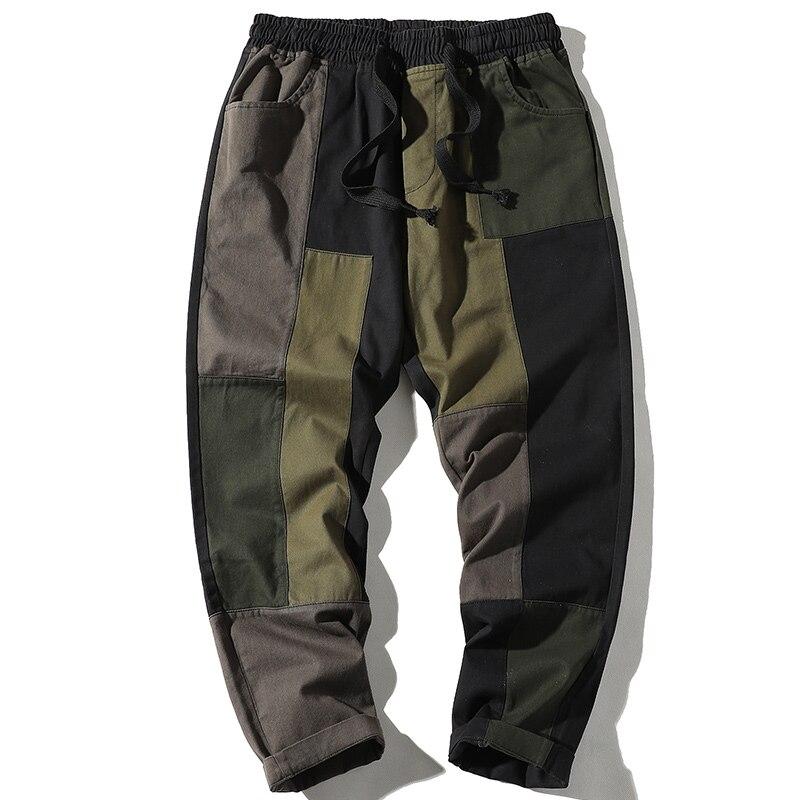 Streetwear Men's Multi Pockets Cargo Harem Pants Hip Hop Casual Male Track Pants Joggers Trousers 2021 Harajuku Men Pants streetwear cargo pants hip hop casual multi pockets harem pants male joggers trousers fashion harajuku trousers pants for men