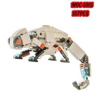 moc deformation animal ancient velociraptor monster bricks model splicing chameleon building blocks bulk toy for children gift