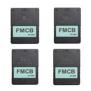 Бесплатная McBoot карта FMCB для Sony PS2 для Playstation2 8MB/16MB/32MB/64MB карта памяти v1.953 OPL MC Boot