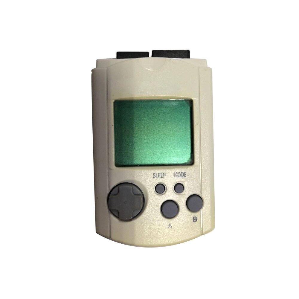 10 قطعة مجموعة ليست جديدة ل Sega تيار مستمر Dreamcast VMU بطاقة ذاكرة LCD البصرية