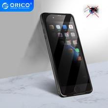 Protector de pantalla de vidrio transparente antiespía ORICO para iphone 6 6S, Protector de pantalla de privacidad para iphone 7 8 Plus