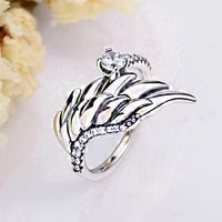 11 make high quality original 925 sterling silver customized colorful fashion diy ring
