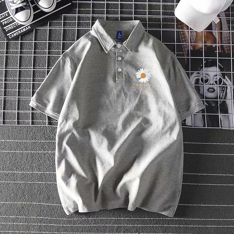 Camiseta Polo para hombre, novedad de verano, Media manga, para hombre, de manga corta, tendencia ajustada, camisa informal de hombre