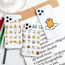 Gudetama – coque souple en Silicone pour iPhone, compatible modèles 6, 6S, 7, 8 Plus, 11 Pro Max, XR, XS, X, couleurs acidulées