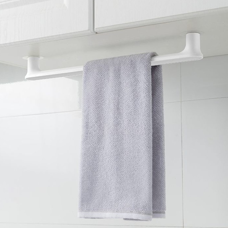 Soporte de toalla minimalista nórdico, toallero creativo, soporte de trapo de cocina...