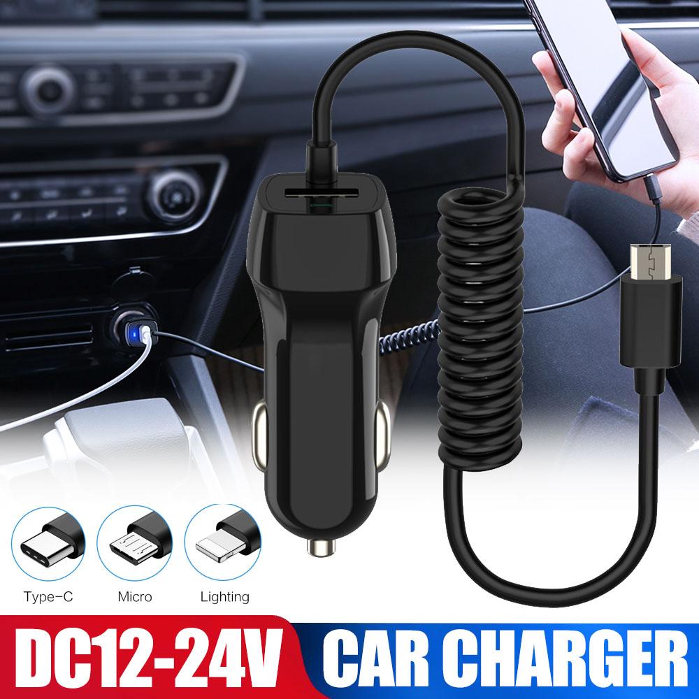 Cargador de coche Auto AUX Audio Plug adaptador/convertidor de cable de coche MP3 USB 2,0 macho de 3,5mm Jack tipo-C para cargador de teléfono móvil