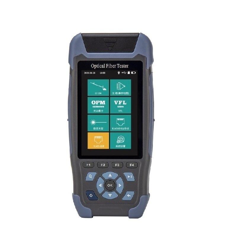 Mini pro OTDR NK3200S NK3200D otdr de fibra óptica/1310/1550nm de otdr ftth 24/22DB 500M 64KM OLS VFL OPM reflectómetro