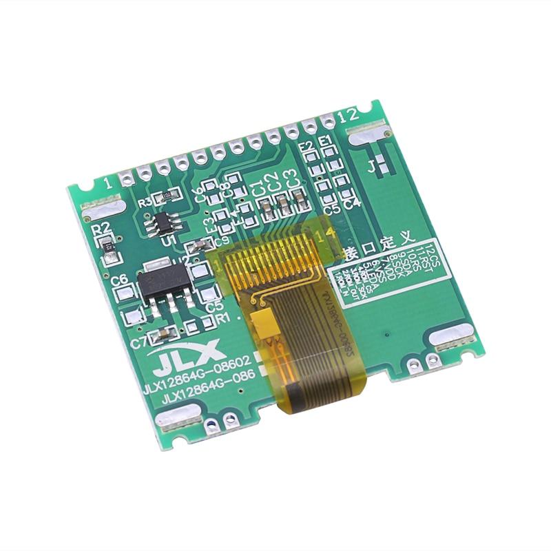 12864 128X64 serie SPI gráfico LCD COG Módulo de pantalla construir-En LCM WXTA
