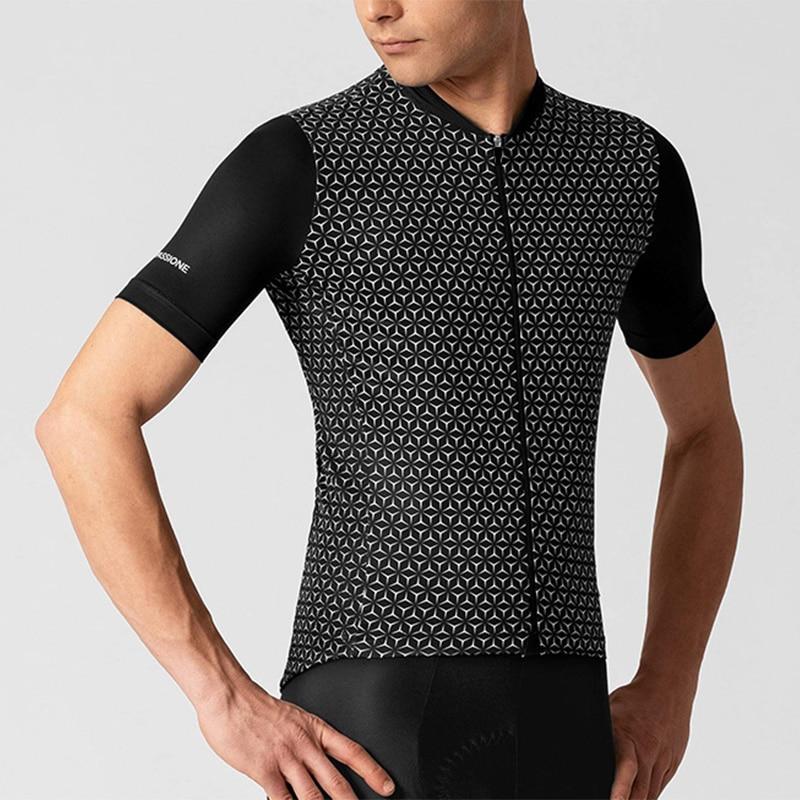 Camiseta de manga corta para hombre, maillot de ciclismo aerodinámico, transpirable, de...