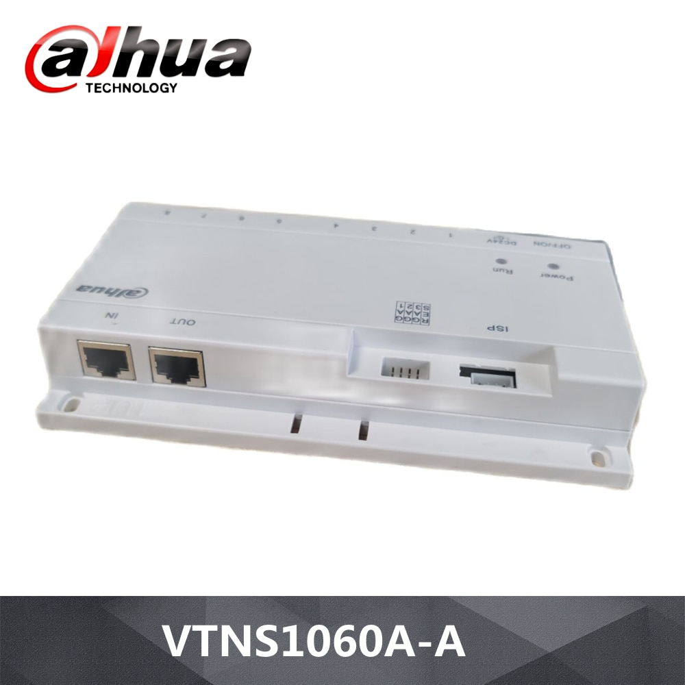 داهوا شبكة امدادات الطاقة لنظام IP VTNS1060A-A مع المكونات شبكة بروتوكول الطاقة شبكة امدادات الطاقة التبديل