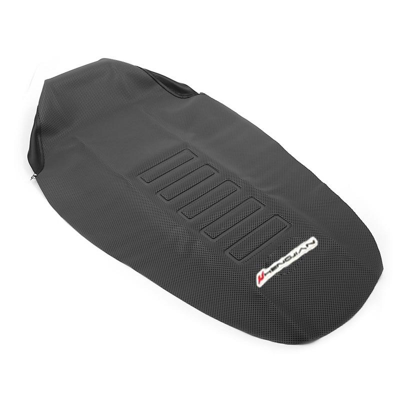 Cubierta de asiento suave de goma PU de 785mm para Suzuki DRZ400SM DRZ400S DRZ 400 SM 2000-2015/DR250R 1997-2000