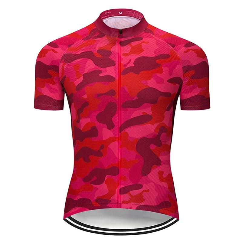 Verano para hombre clásico Ciclismo Jerseys MTB Ropa para bicicleta De montaña...