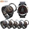 ベゼルリングスタイリングフレームケース保護カバーガーミンフェニックス 5/5X/3 スマート腕時計アンチスクラッチ接着剤フェニックス 5 × 5 3 用カバー