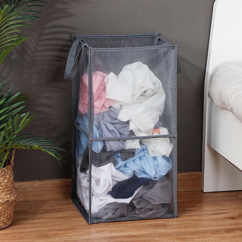 سلة الغسيل سعة كبيرة طوي لعبة تخزين الحطام حقيبة التخزين المعاصرة التعاقد غرفة الغسيل المنظم
