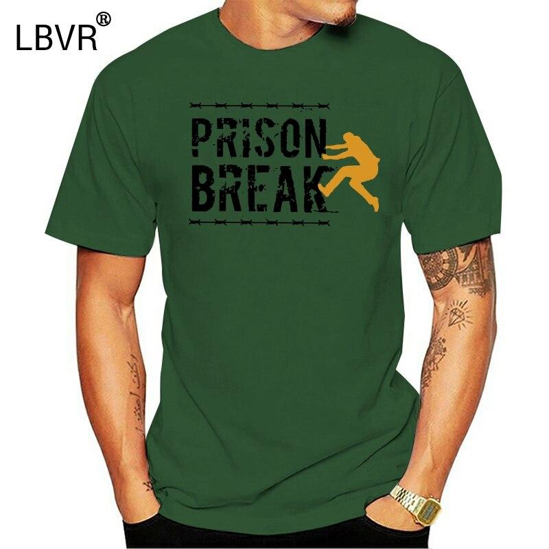 Amazing Prison Break T-Shirts for Men Crewneck Cotton T Shirts Short Sleeve Tees Gift Idea Tops