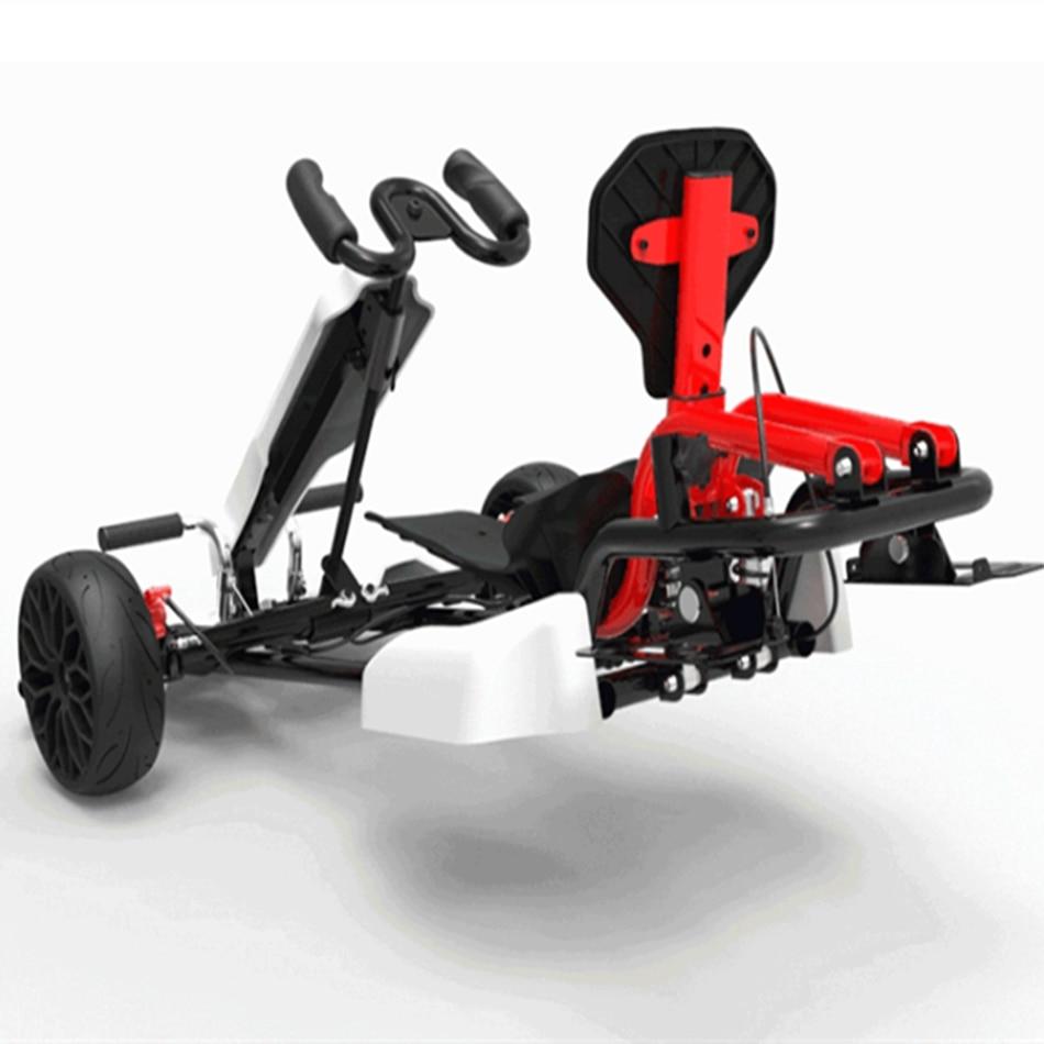 [EU Direct]-monopatín eléctrico con marco de coche para adultos y niños, Scooter...