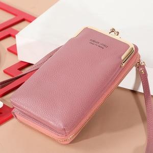 PU Leather Fashion Simple Women Handbags Shoulder Crossbody Bags Small Phone Pouches Bolsas Feminina Bolsos Mujer for Girls