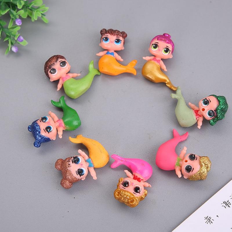 L.O.L. Сюрприз! 8 шт./компл. LOL Куклы Игрушки для девочек DIY сюрприз Русалка куклы, игрушки для девочек