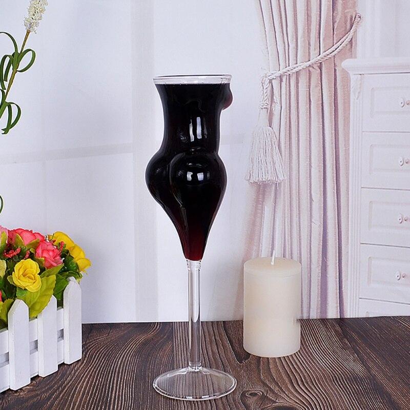 Kształt ciała butelki whisky kufel do piwa lampka do wina kubek ludzki koktajl kieliszki do szampana kreatywny napój kubki czara kubek
