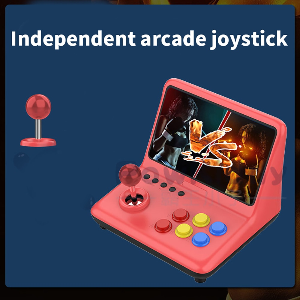 Large Screen 9-Inch Joystick Game Console A12 Retro Arcade Ps1 Game Console Nostalgic Old-Fashioned Double Handheld