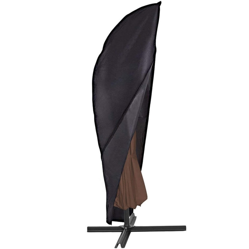 Outdoor Garden Banana Umbrella Cover Waterproof Oxford Cloth Patio Overhang Parasol Rain Cover Accessories