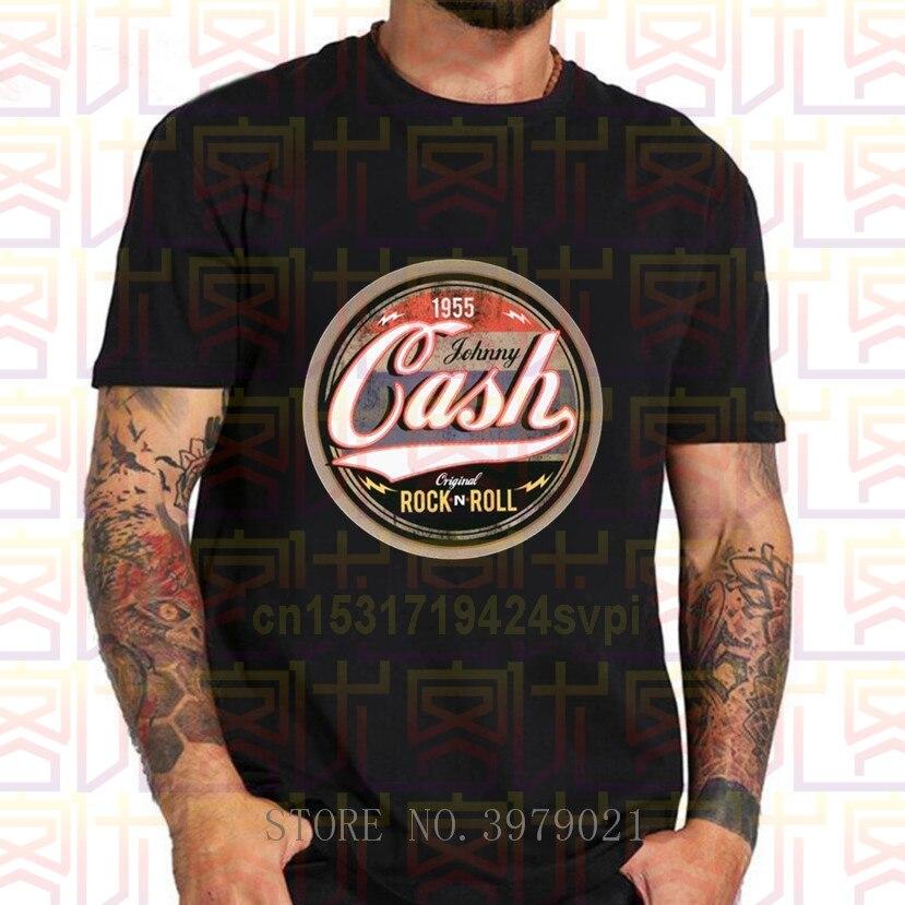 Nova chegada dos homens t camisas online johnny cash casual rock n rolo t camisa de manga curta t camisa masculina para presente