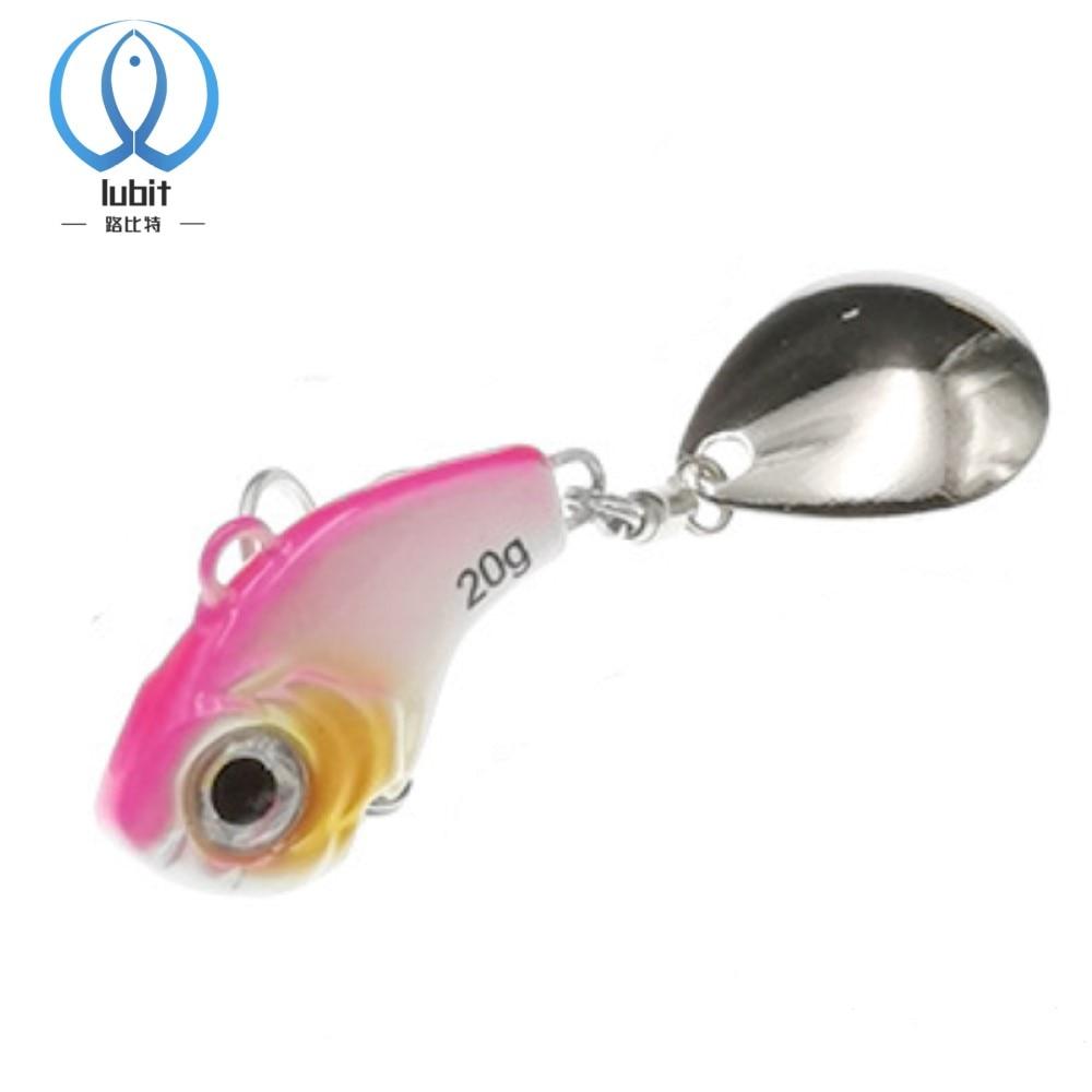 AliExpress - Lubit Deracoup tail spinner Metal VIB Bait Spoon Fishing Lures 5/10/15/20g Jigs Trout Winter Fishing Hard Baits jigging lure