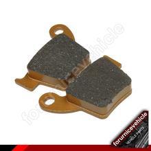Almohadillas sinterizadas traseras para Honda CR125 E R CRF150 R RB CR 250 E R CRF250 R RX X CRF450R CRF450RX CRF450X