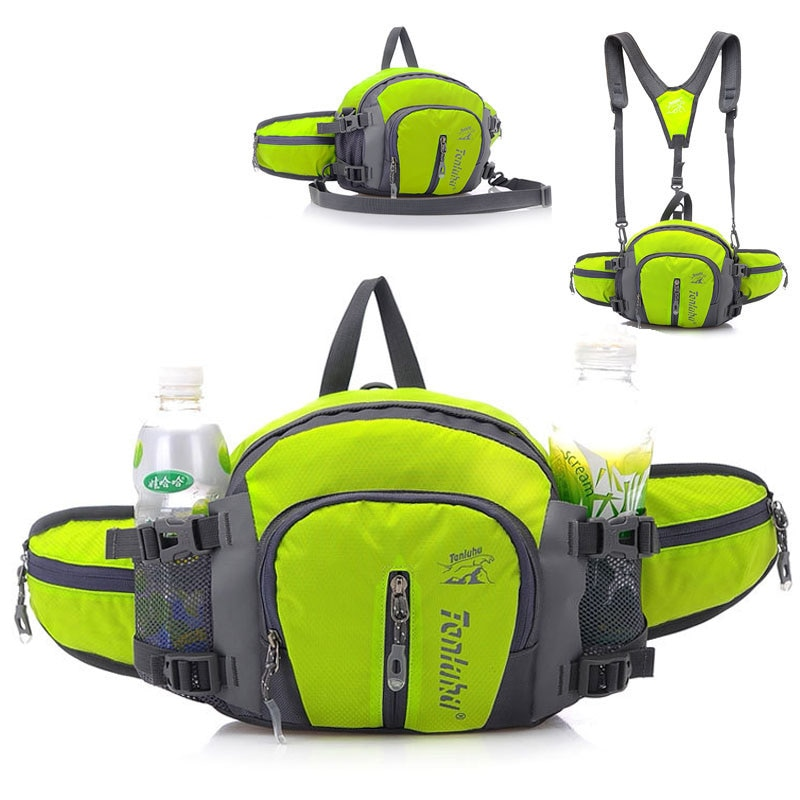 5L Large Running Bag Outdoor Sport Bicycle Cycling Backpack Shoulder Waist Pack Men Women Hiking Cam