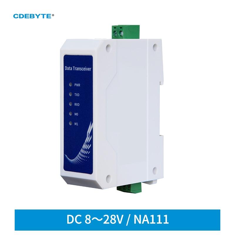 RS485 рельсовый последовательный порт к RJ45 Ethernet Серийный Sever NA111 промышленный стандарт DC8 ~ 28 в трансивер передачи данных