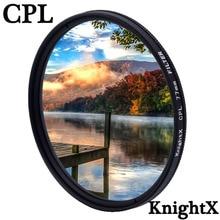 KnightX CPL Polarizer Polarizing 49 52 55 58 62 67 72 77 mm Camera lens filter for Sony Canon Nikon d5300  600d d3200 52mm 58mm