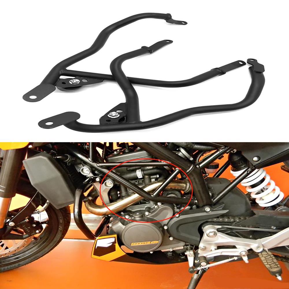 Motorrad Teile Zylinder Motor Abdeckung Protector Für 390 2018-2019 Edelstahl Crash Bar Stoßstange Trim