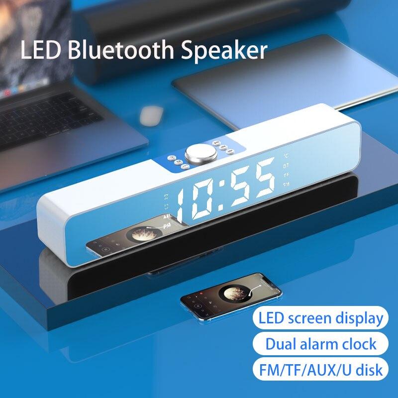 Barra De Sonido LED con Bluetooth Para TV, Altavoces Para cine en...