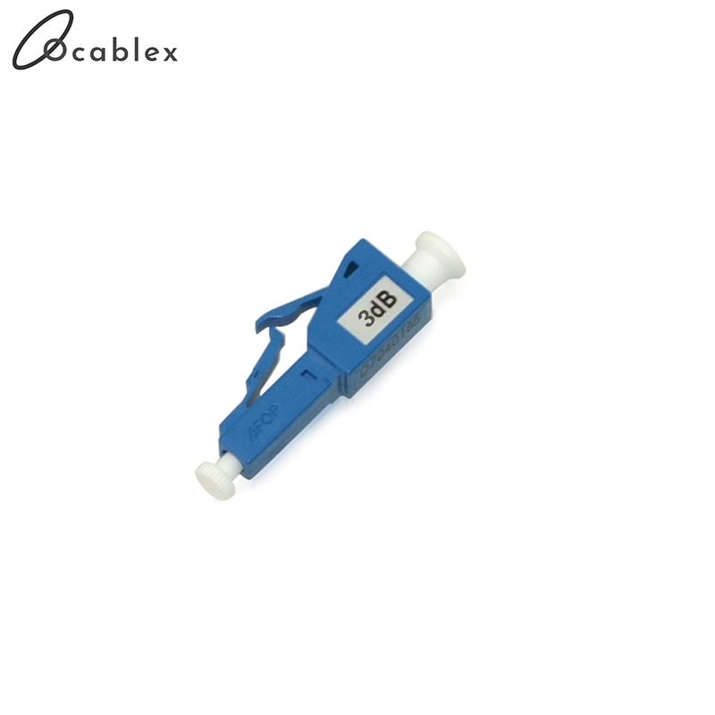 50PCS/pack LC 3db Fiber Optical Attenuator LC/UPC Female to Male fiber optic
