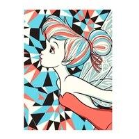 Peinture diamant theme Disney pour fille  broderie complete 5d  dessin anime  image en strass  decor de maison  cadeau fait a la main  mosaique  bricolage