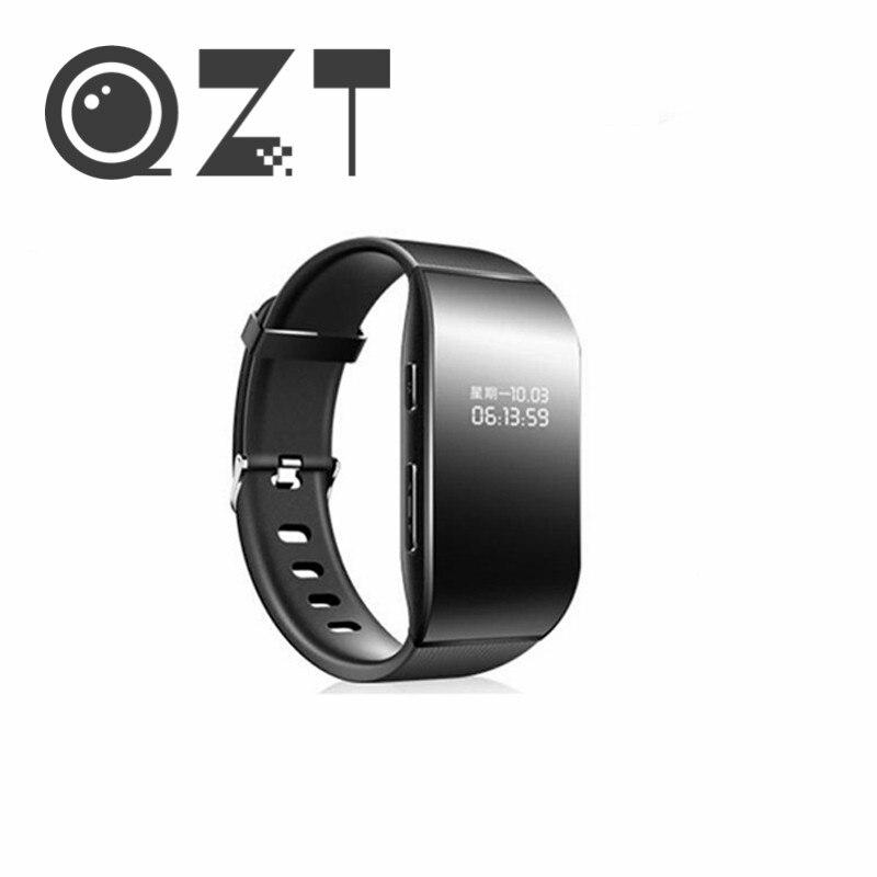 QZT-مسجل صوت رقمي ، ساعة ، سوار معصم ، مسجّل صوت احترافي ، مشغل MP3 ، صوت صغير ، تنشيط