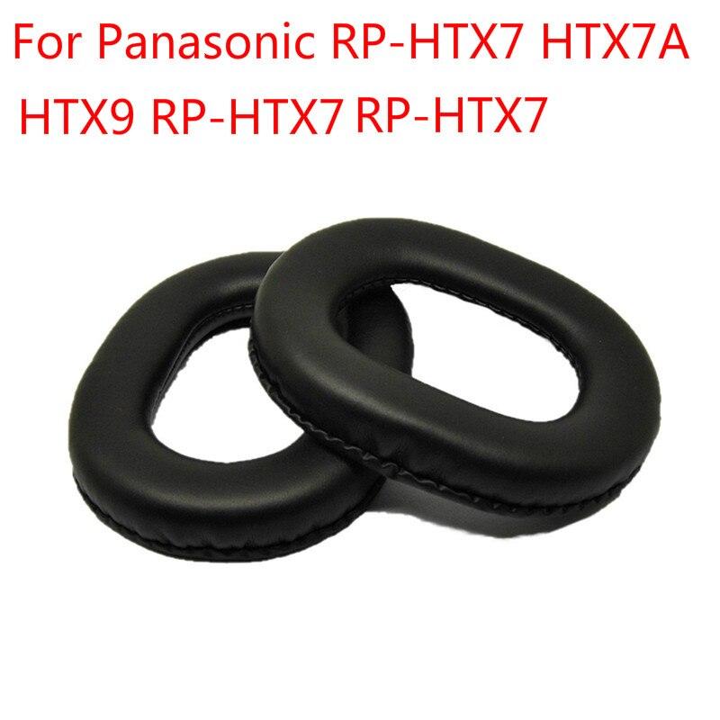 Almohadillas de repuesto para Panasonic RP-HTX7 HTX7A HTX9 almohadillas de espuma de memoria blanda para almohadillas de almohadillas para auriculares Panasonic RP-HTX7