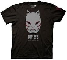 Naruto Shippuden Anbu Schwarz Ops Maske Hemd Cartoon t hemd männer Unisex Neue Mode t-shirt freies verschiffen lustige tops