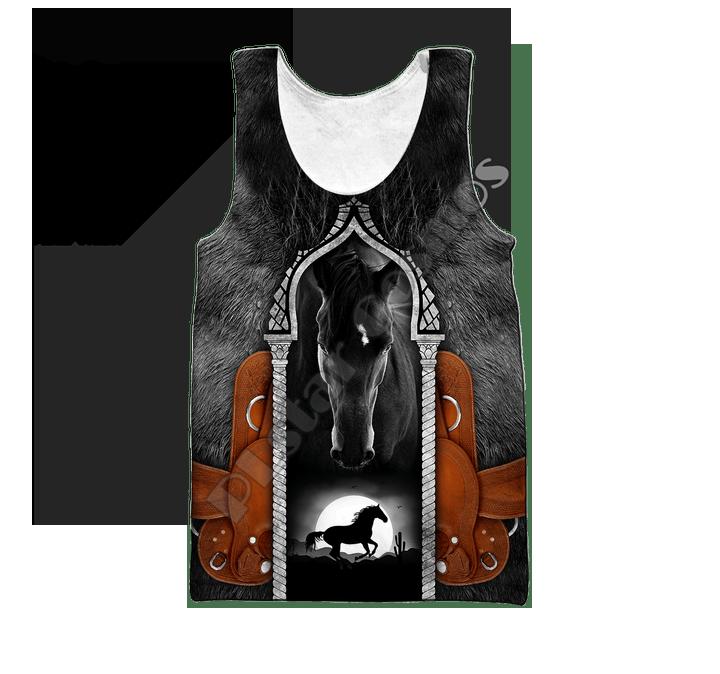 PLstar Cosmos Love Racing Horse Camo Animal nueva moda suéter divertido 3Dprint Unisex verano Casual camiseta chaleco hombres/mujeres B-1