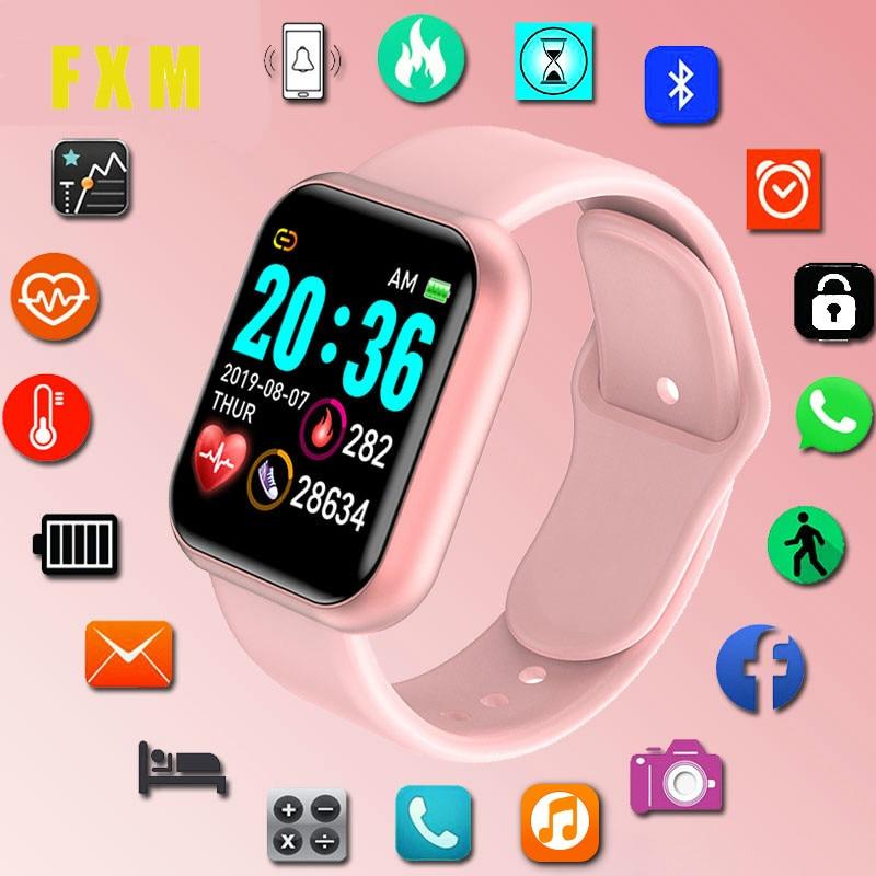 Smart Watches For Women Blood Pressure Men Fitness Tracker Waterproof Smart Bracelet Heart Rate Monitor Pedometer Sports Clock