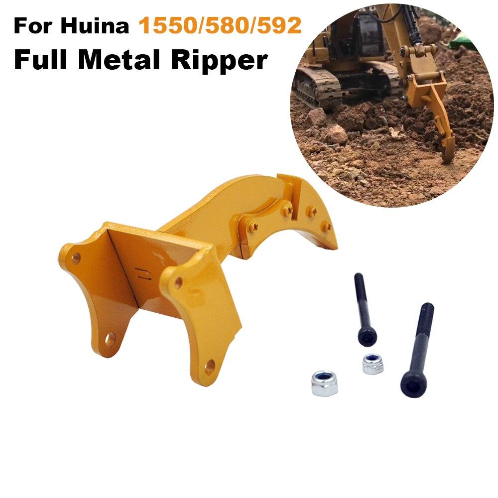 Voll Metall Ripper Teil Für HUINA 1550/580/592 114 RC Metall Bagger Metall Rock Ripper Teil