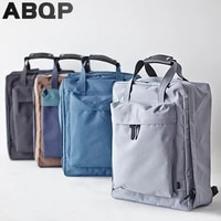 abqp large capacity travel backpack bags for women independent shoe pocket nylon womens backpack solid hiking girls backpack