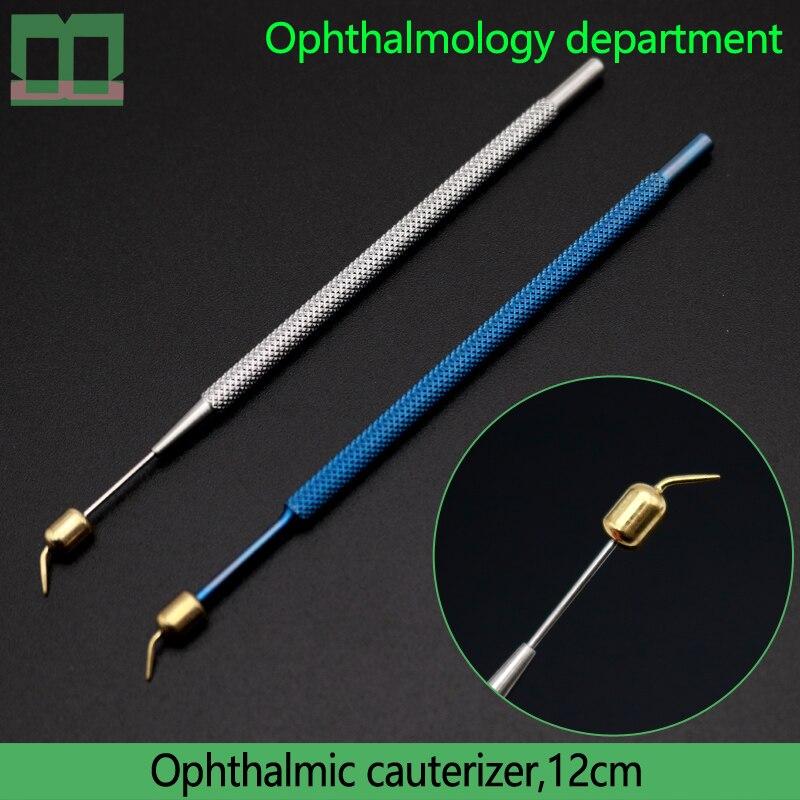 كوتيرير العيون سبائك التيتانيوم أداة التشغيل الجراحية 12 سنتيمتر قسم طب العيون