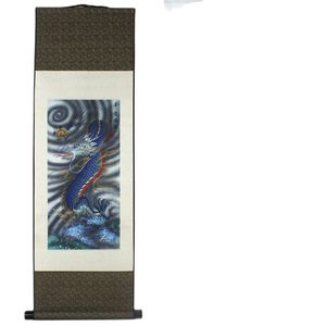 Dragon Pattern Silk Painting Decoration Scroll Painting Chinese Characteristics And The New Special
