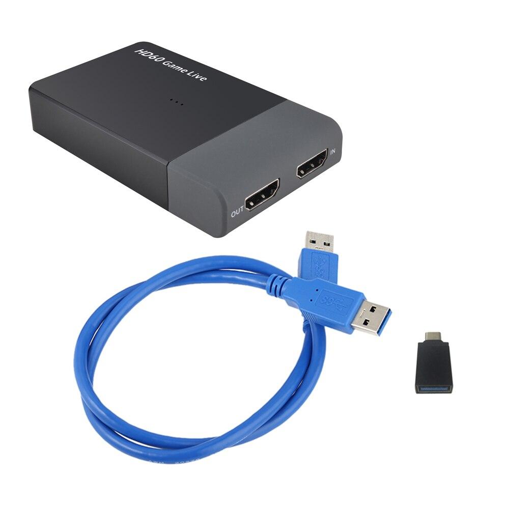 التقاط فيديو من HDMI إلى USB 1080 ، لعبة ، بطاقة التقاط فيديو ، بث مباشر ، 3.0 بكسل