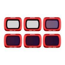 6PCS Lens Filters Set For DJI Mavic Air 2 UV CPL ND4 ND8 ND16 ND32 lens filter for DJI Mavic Air 2 drone Accessories