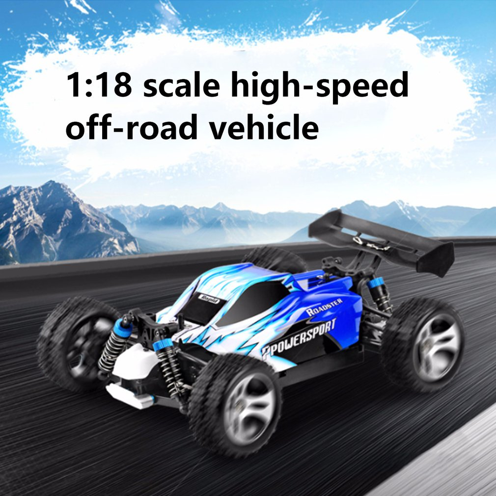 WLtoys A959-B A959 959-A RC Car 1:18 2.4GHz 4WD Rally Racing Car 70KM/H High Speed Vehicle RC Racing Car for Kids Adults enlarge