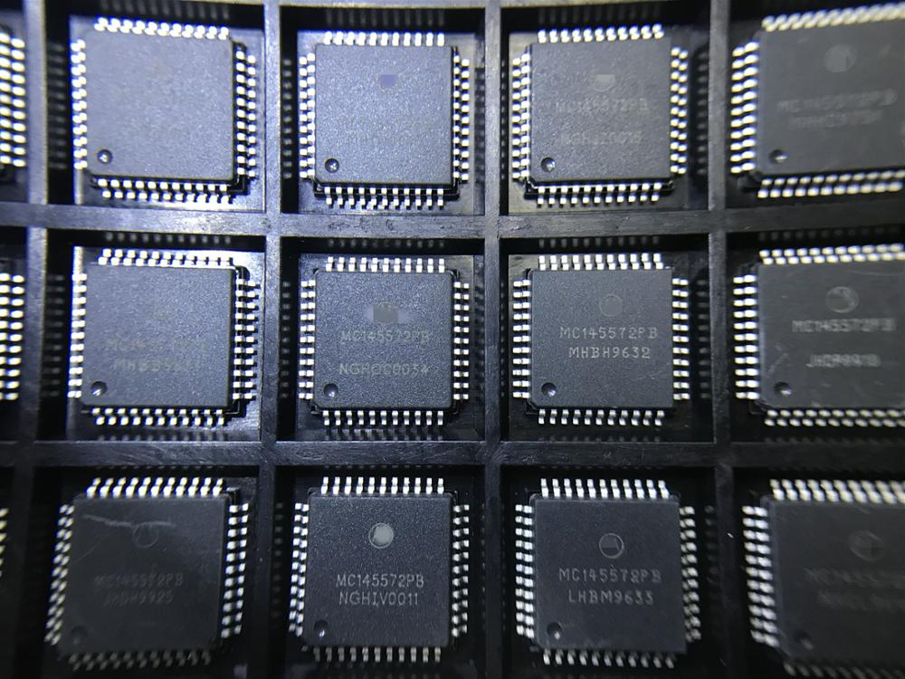 5PCS MC145572PB MC145572  ISDN LINE INTERFACE, BASIC, 44 Pin, Plastic, QFP  new good quality