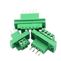 computer components connector kf2edgwb 5 08 throughwall terminal block female 234891012p plug in type with ear screw fixed